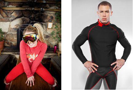Ski underclothes/base layer