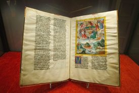 Ottheinrich Bible Presented In Munich