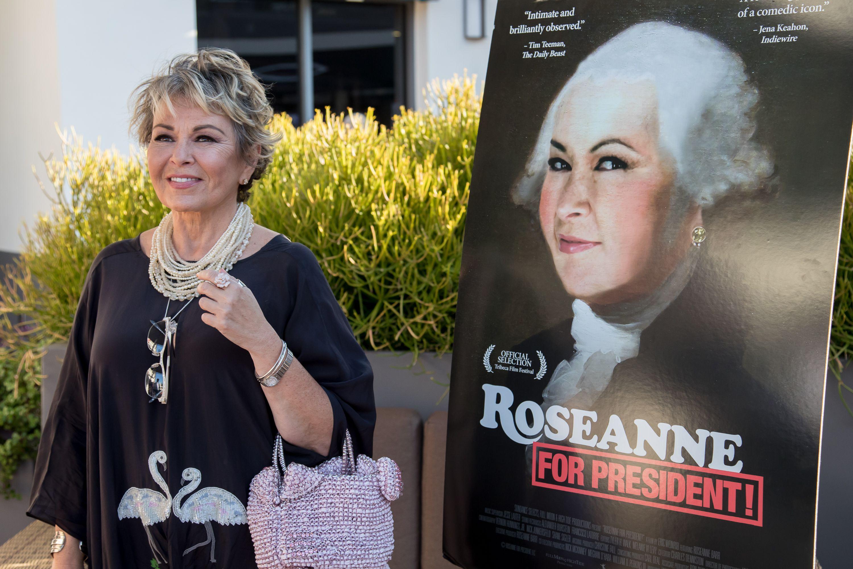 Roseanne Barr's 'Roseanne For President!'