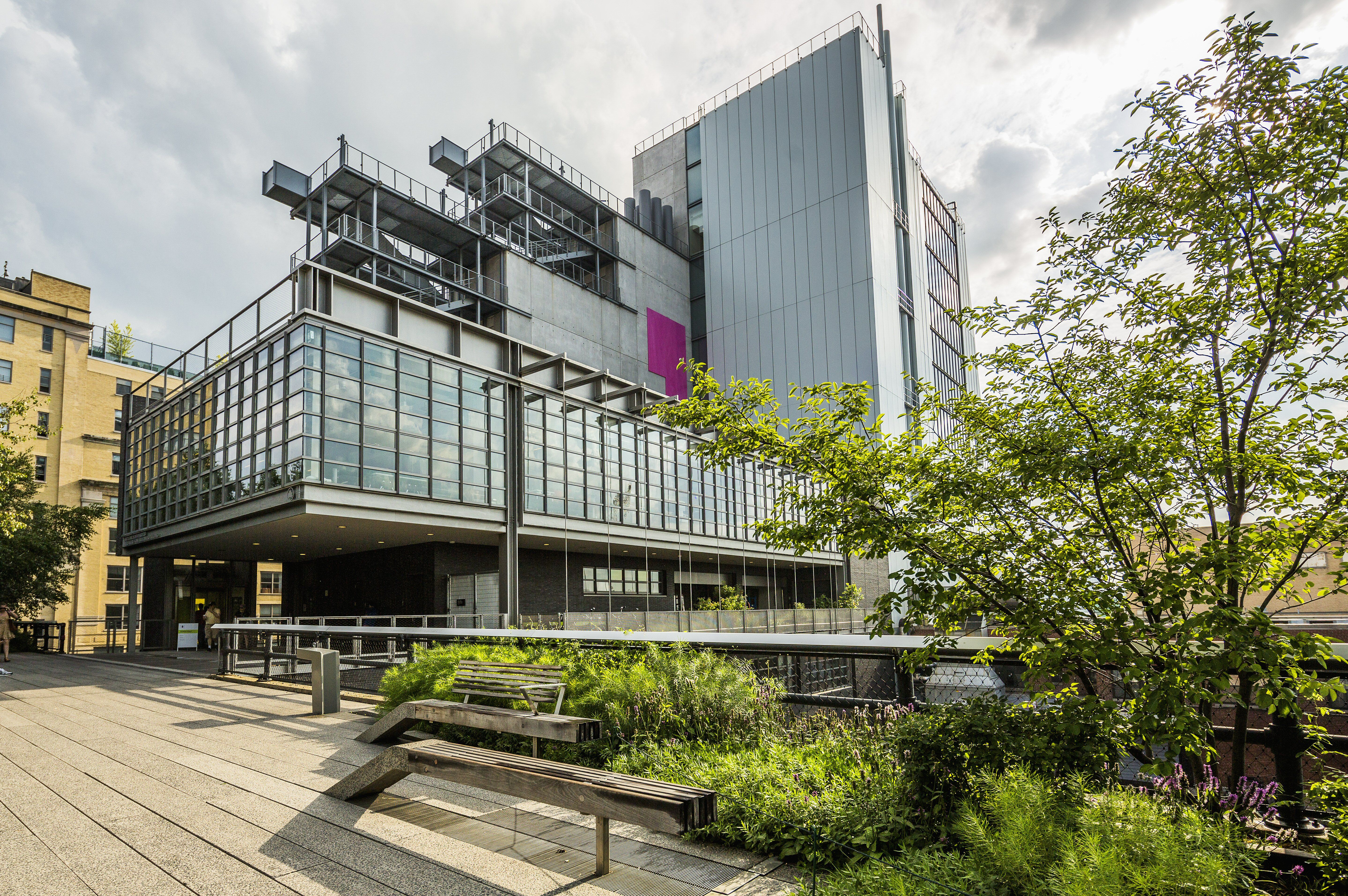 Manhattan, Meatpacking District, High Line Elevated Park and Whitney Museum of American Art