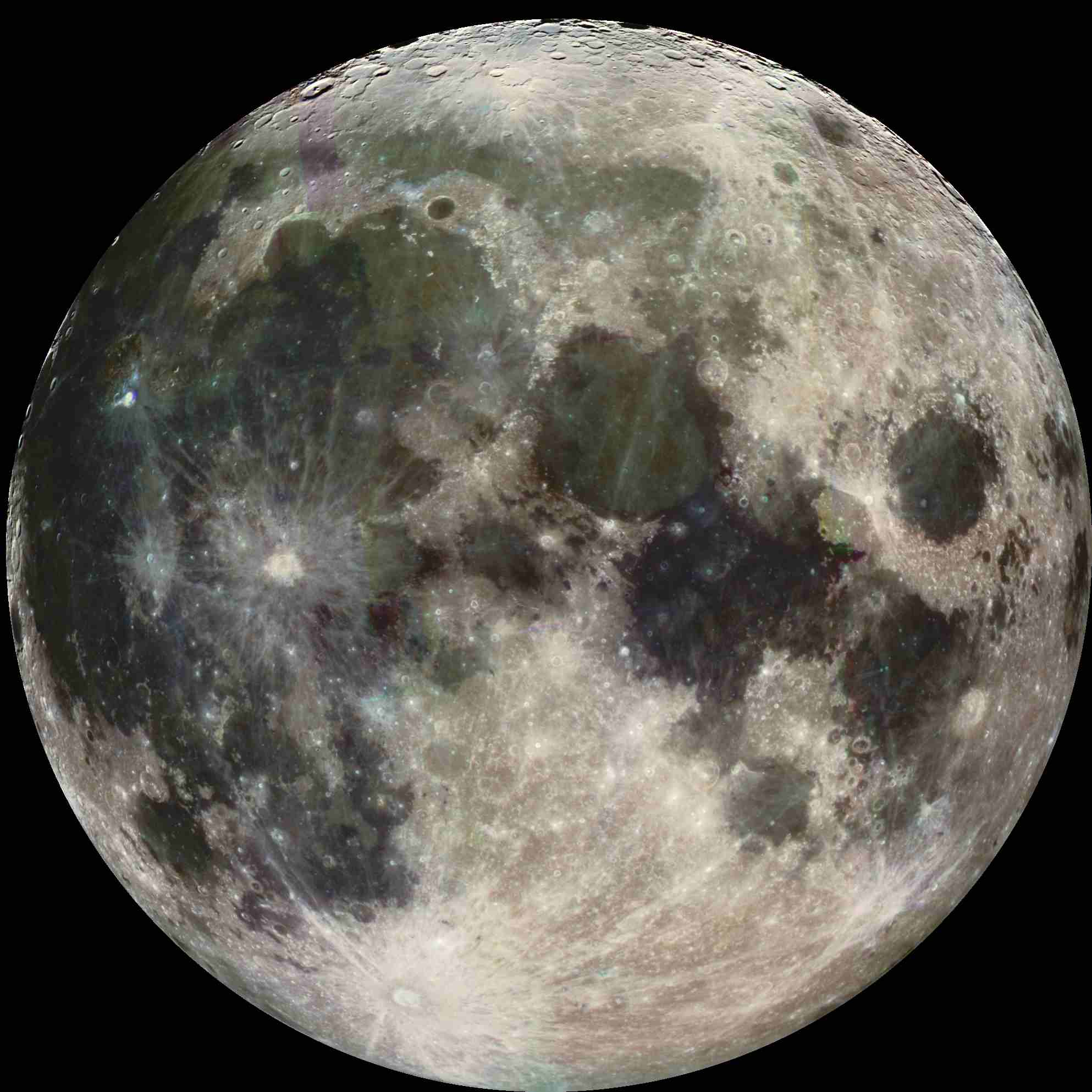 Pictures of the Moon - The Moon from Galileo's Perspective
