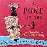 Cover art for A Poke in the I book of concrete poems for children