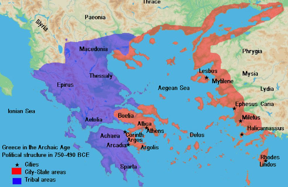 Ancient Greece Map Labeled 30 Maps That Show the Might of Ancient Greece