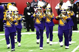 The Alcorn State University Marching Band