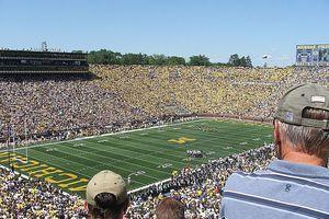 University of Michigan Football Stadium