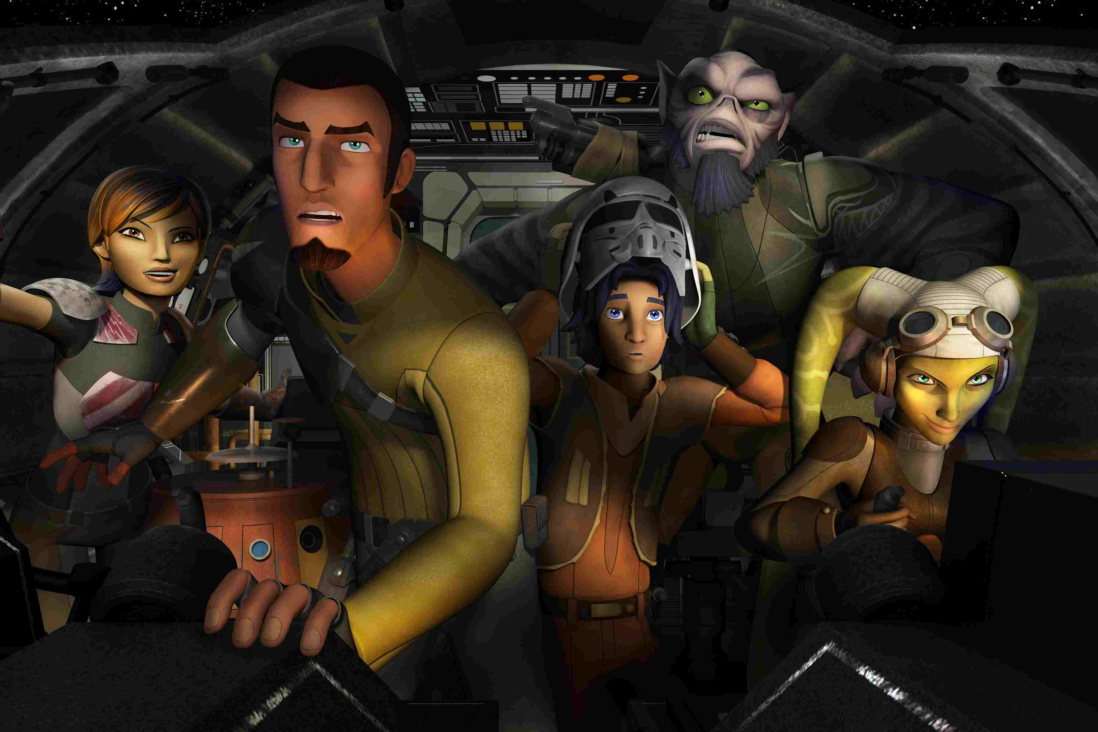 What 'Star Wars Rebels' is All About
