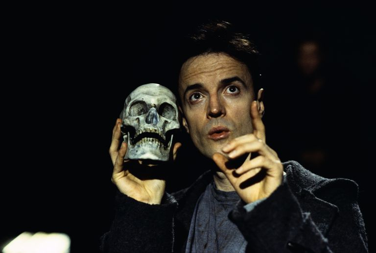 Paul Rhys Performing in Hamlet