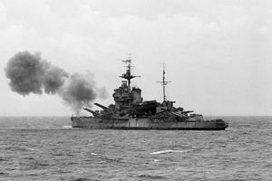 HMS Warspite battleship