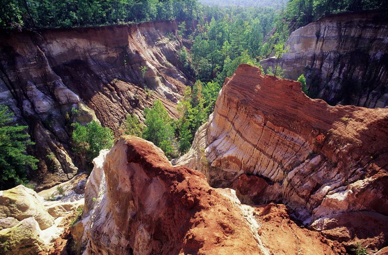 The Definition And Description Of Geological Erosion
