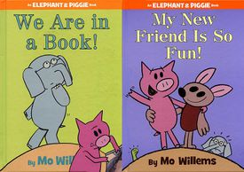 Elephant and Piggie book covers