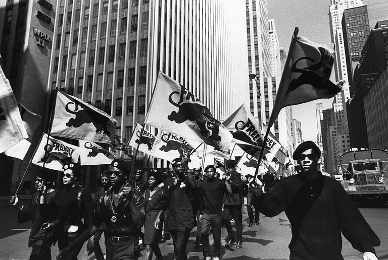 The Black Panthers March in New York