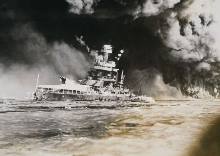WORLD WAR II, PEARL HARBOR, 12/7/41