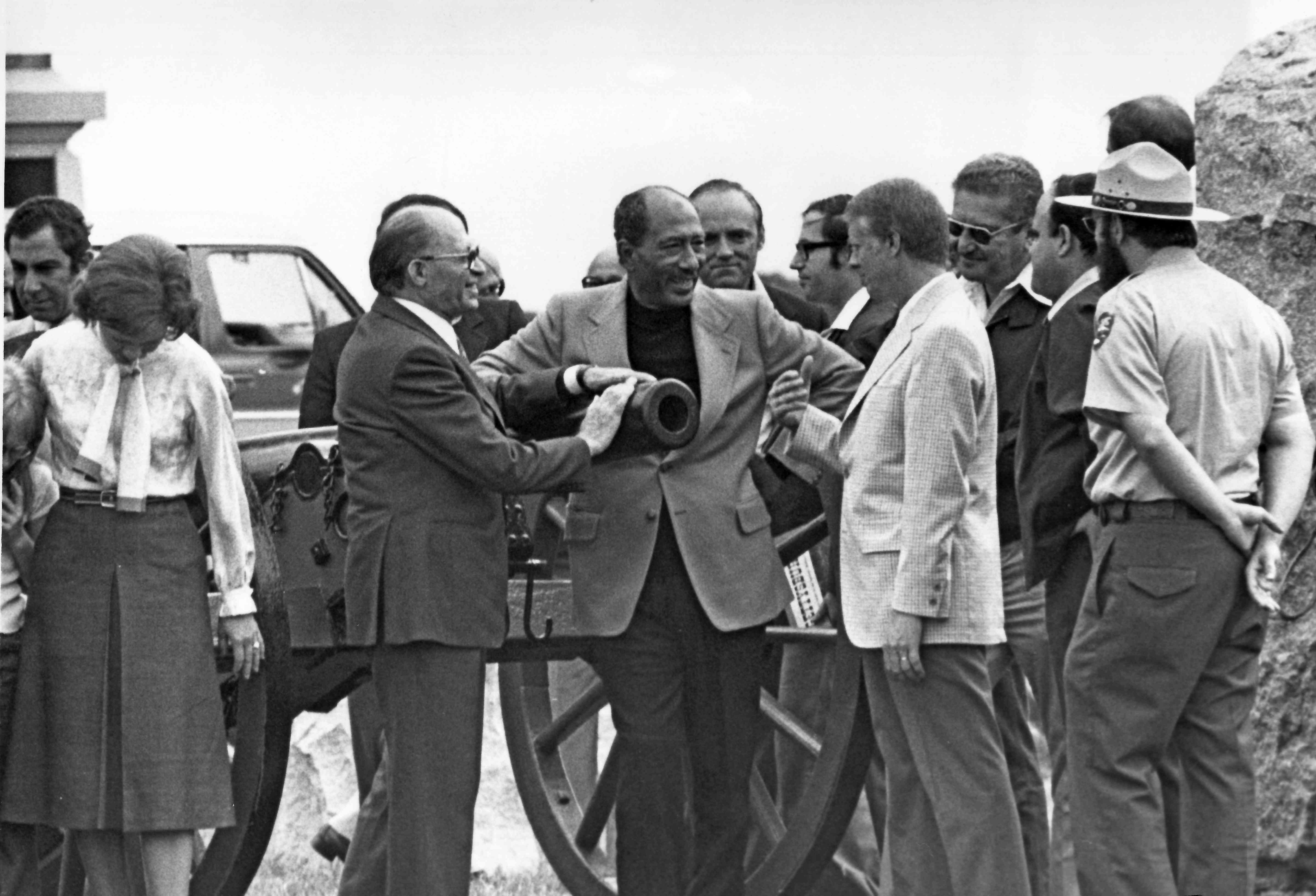 Begin, Sadat, and Carter at Gettysburg