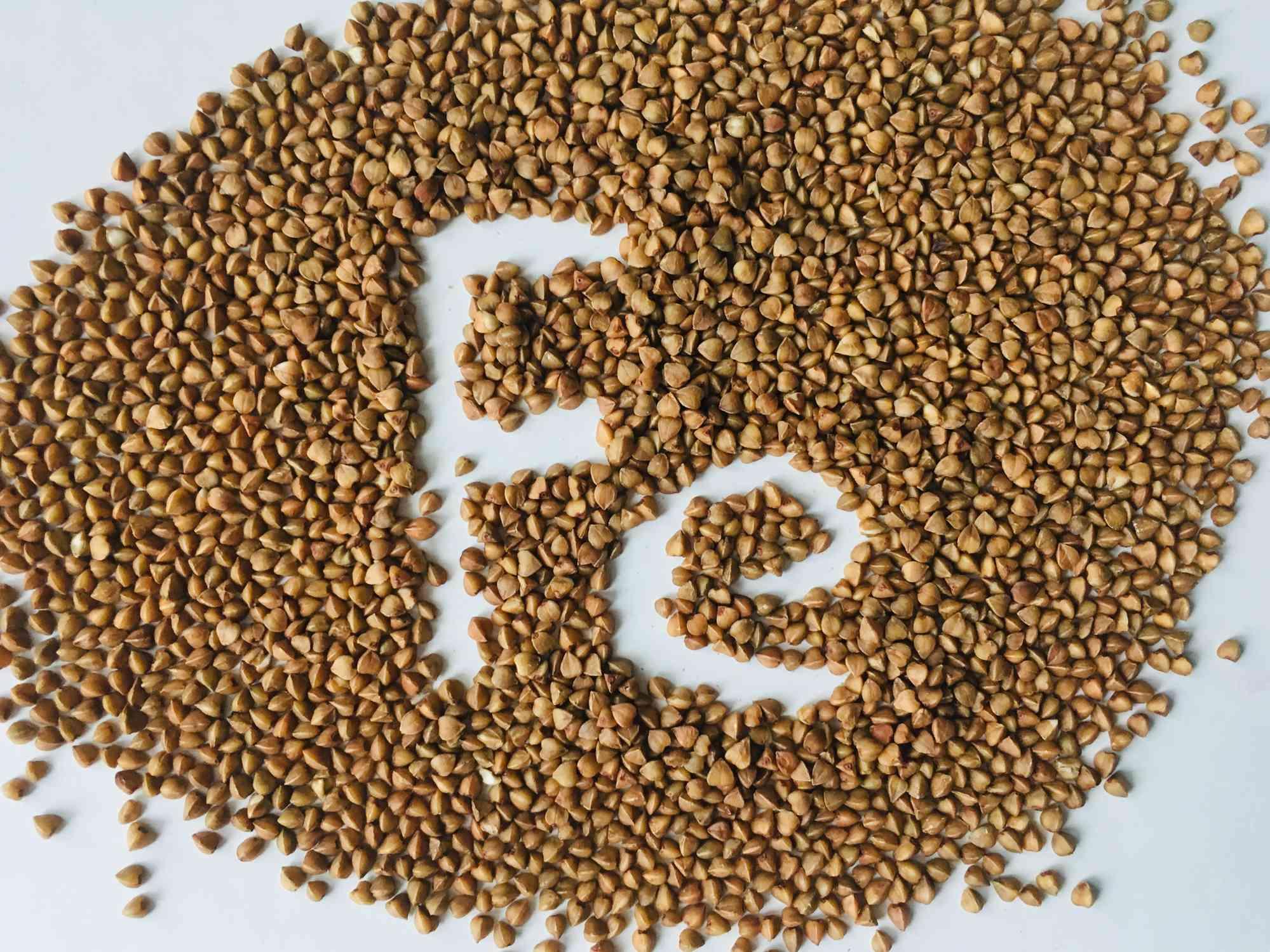 Iron symbol in buckwheat