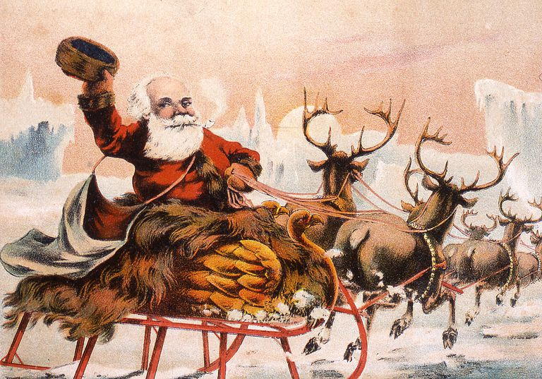 How Santa's Reindeer Got Their Names