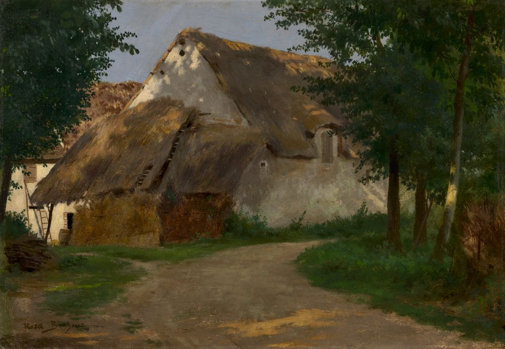 The Farm At The Entrance Of The Wood