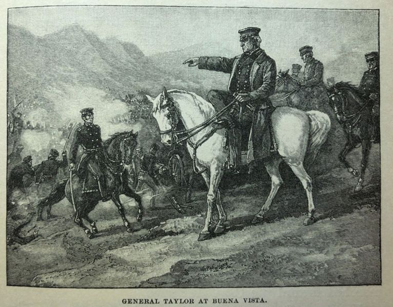 General Zachary Taylor at Buena Vista