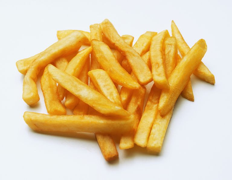 Cold french fries get soggy and taste nasty because water from the potatoes migrates to the surface. This makes the coating soft and the inside grainy.