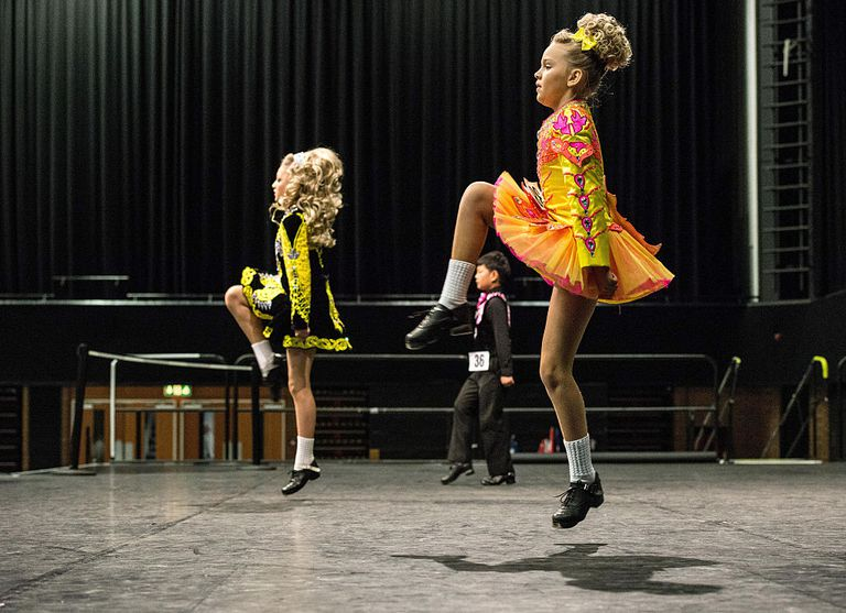 Dancers Compete In The World And European Irish Dancing Championships