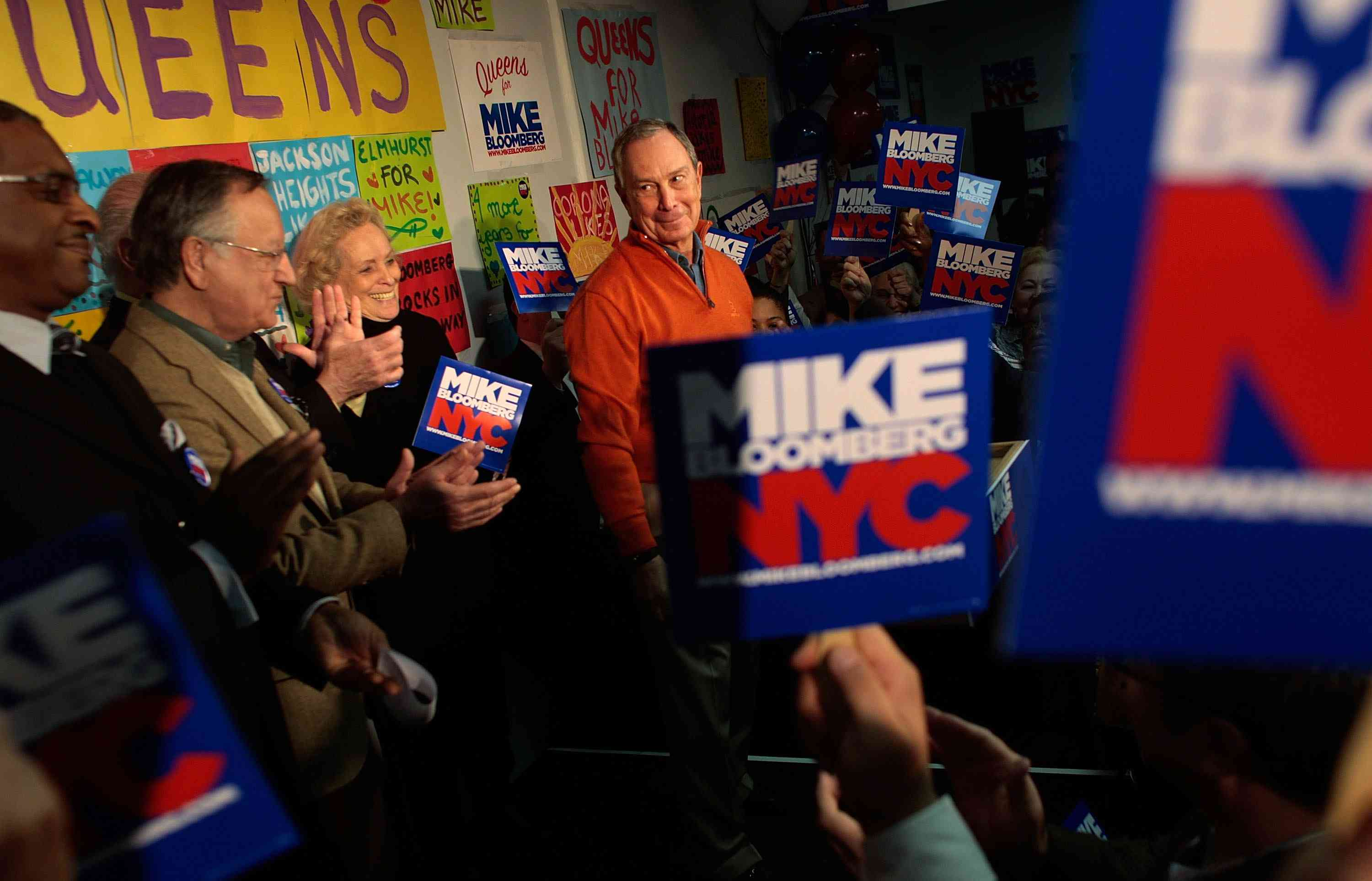 Mayor Bloomberg Opens Campaign Offices Across The City