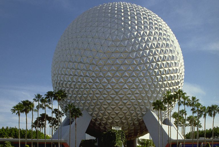 Spaceship Earth at Disney World, Orlando, Florida