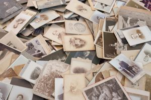 old and important family photographs