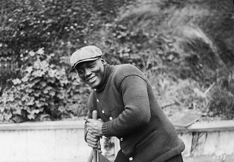 Boxer Jack Johnson