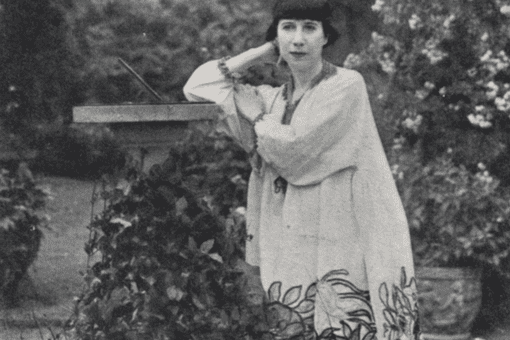 Photograph of Florine Stettheimer, artist unknown. 1910.