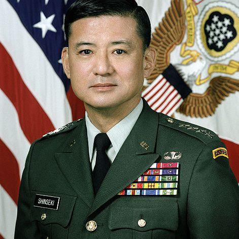 General Eric Shinseki