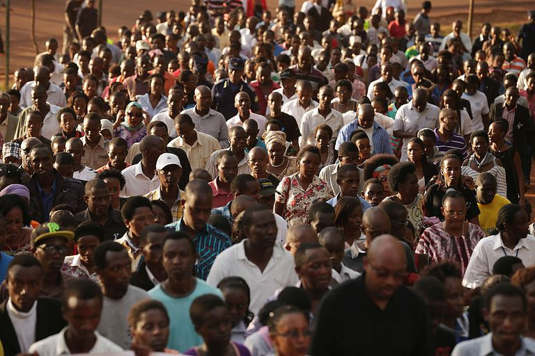 Remembrance event for Rwandans