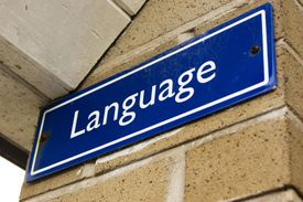 language sign