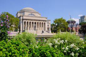 Low Memorial Library at Columbia University in New York City