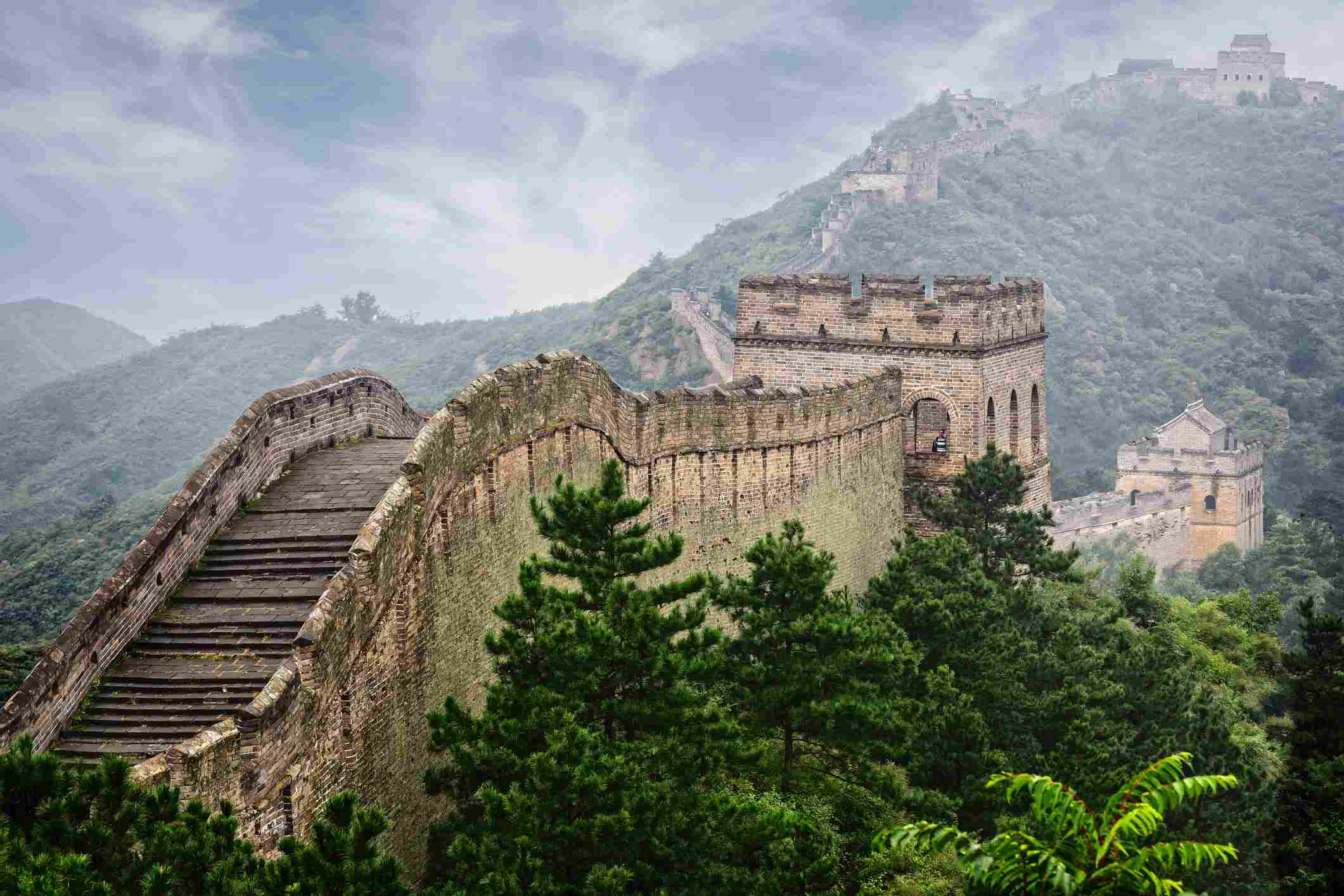 The Great Wall of China in Beijing