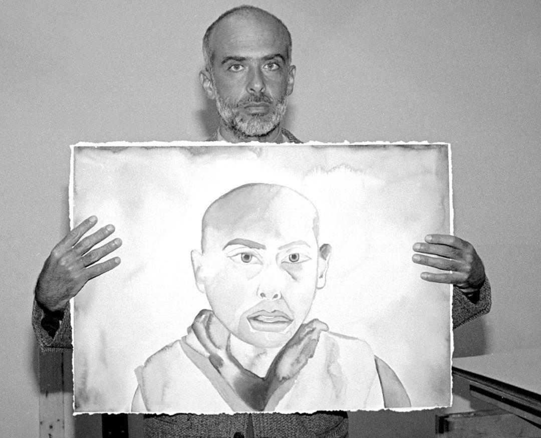 Francesco Flemente self-portrait