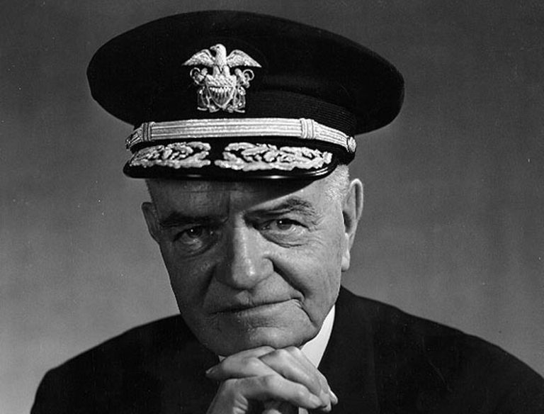 "Fleet Admiral William ""Bull"" Halsey"