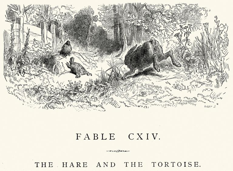 La Fontaine's Fables - Hare and the Tortoise