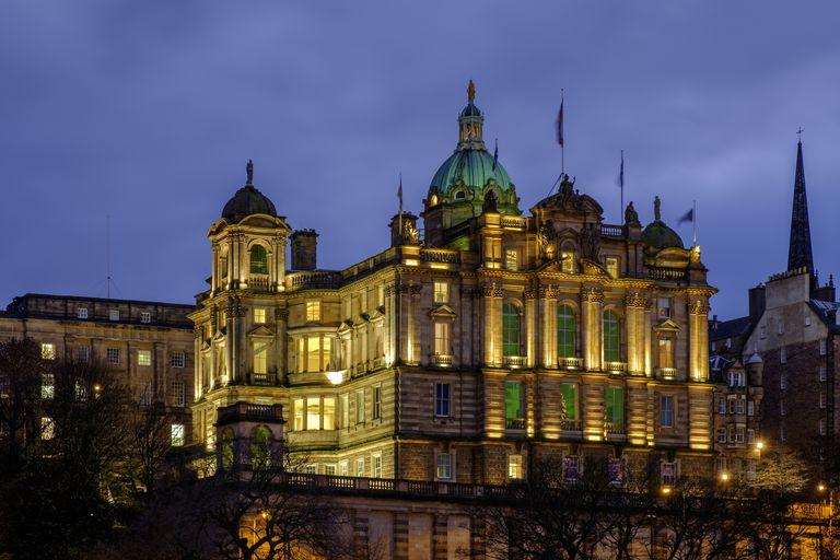 The Bank of Scotland in Scotland, Edinburgh