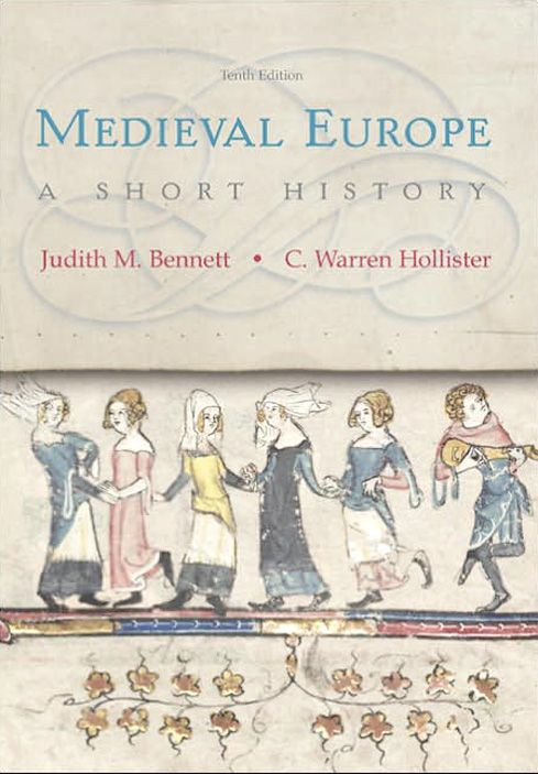 """""""Medieval Europe"""" book cover"""