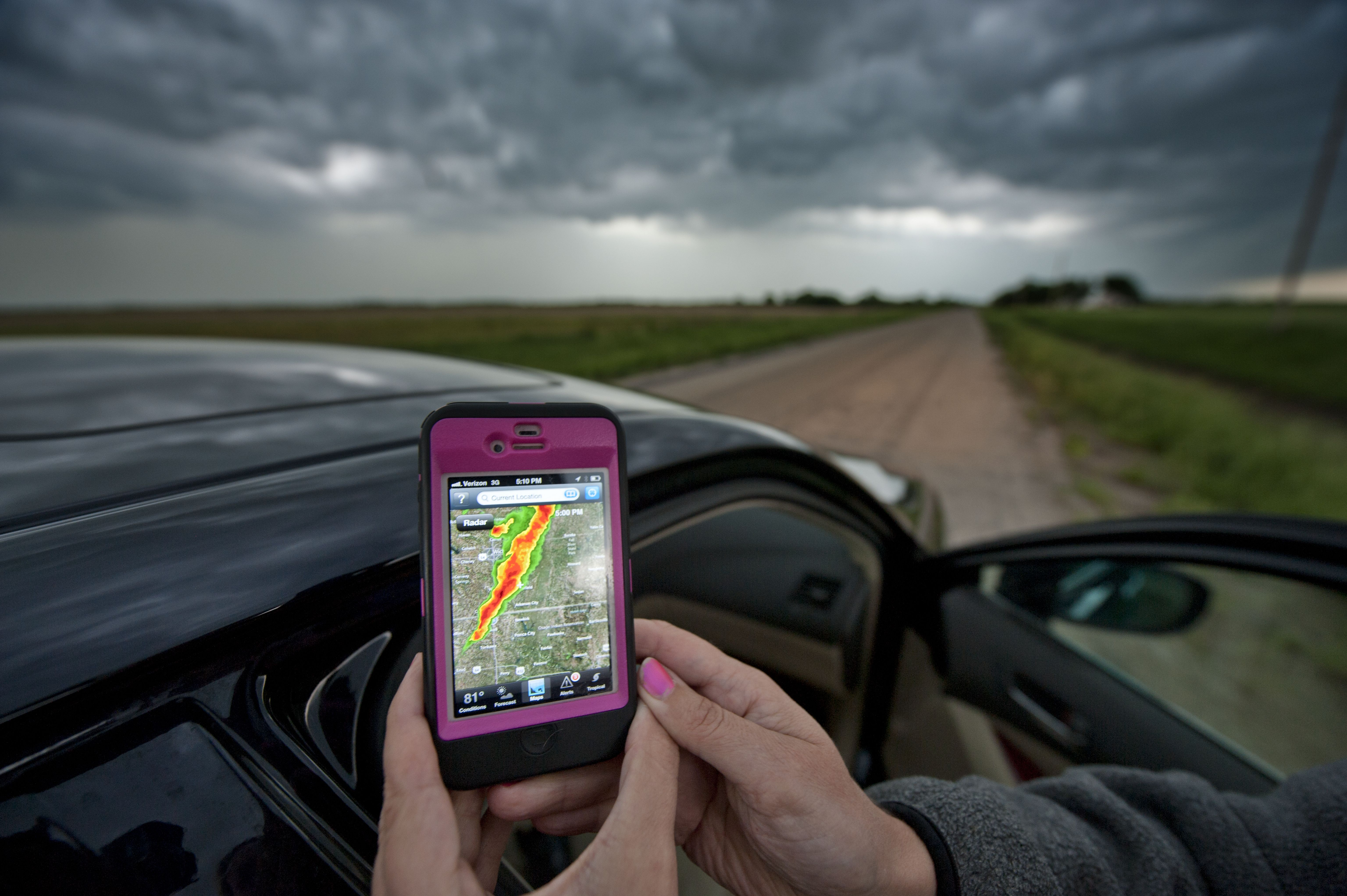 Severe Weather in Tornado Alley, Oklahoma