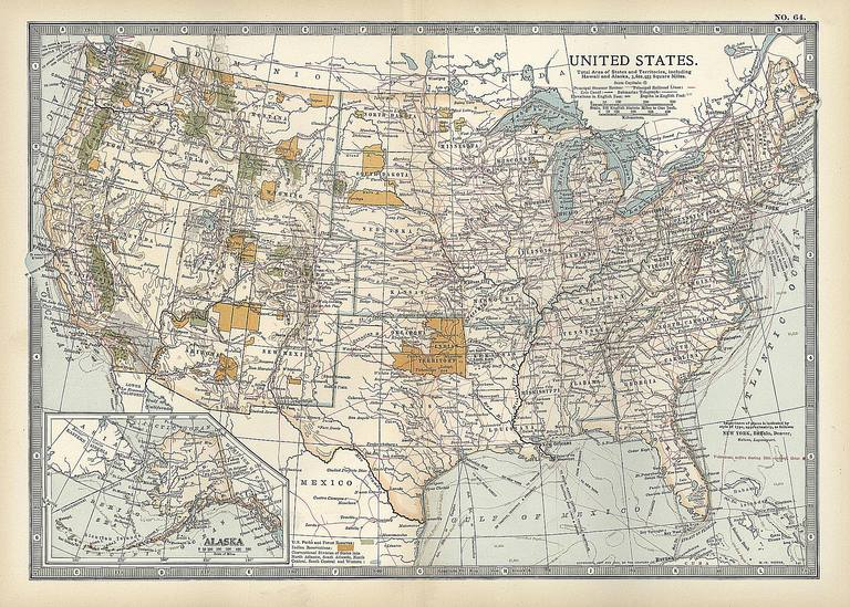 Geography Timeline: 13 Moments Changed U.S. Boundaries