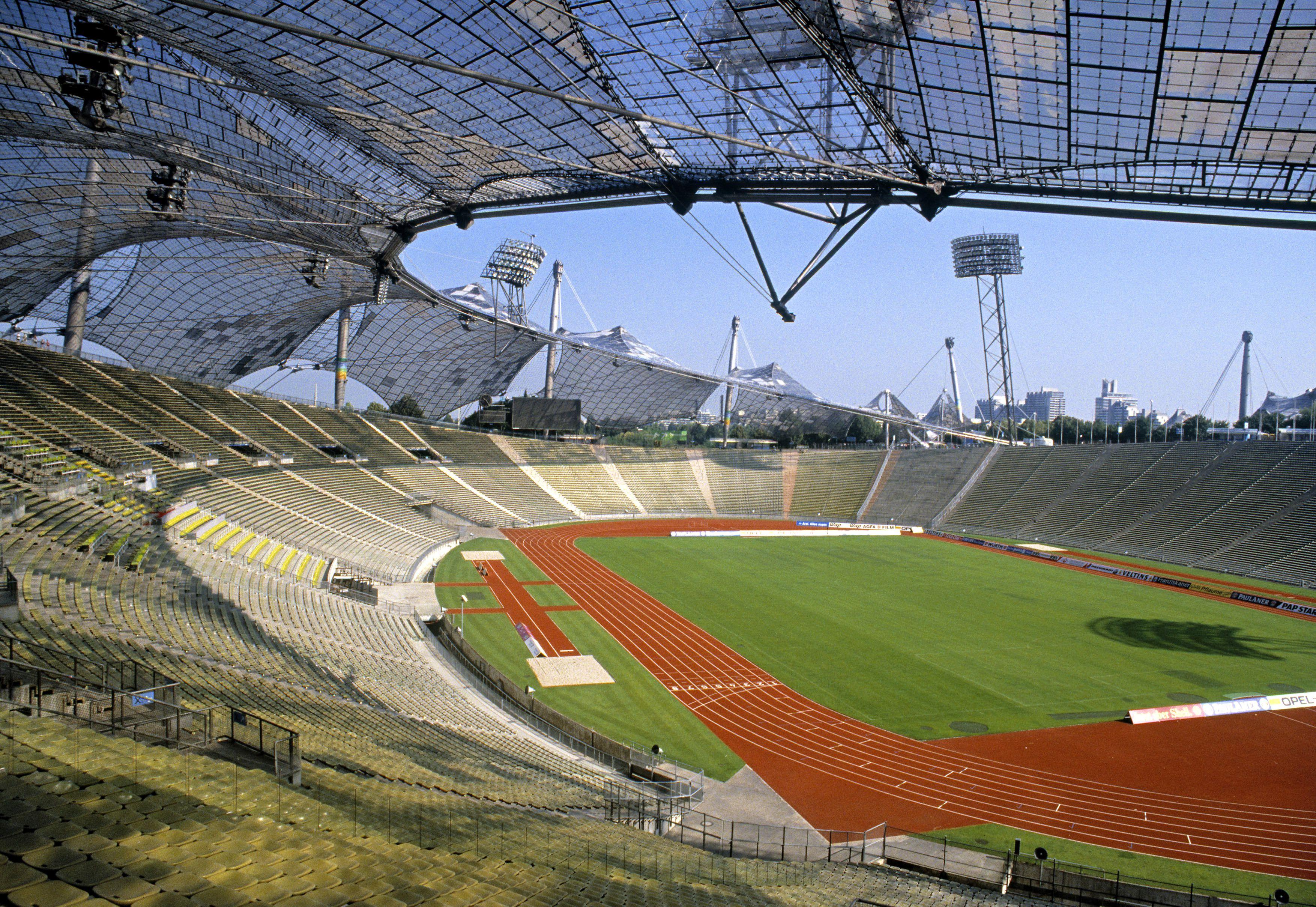 Olympic Stadium, 1972, in Munich, Germany