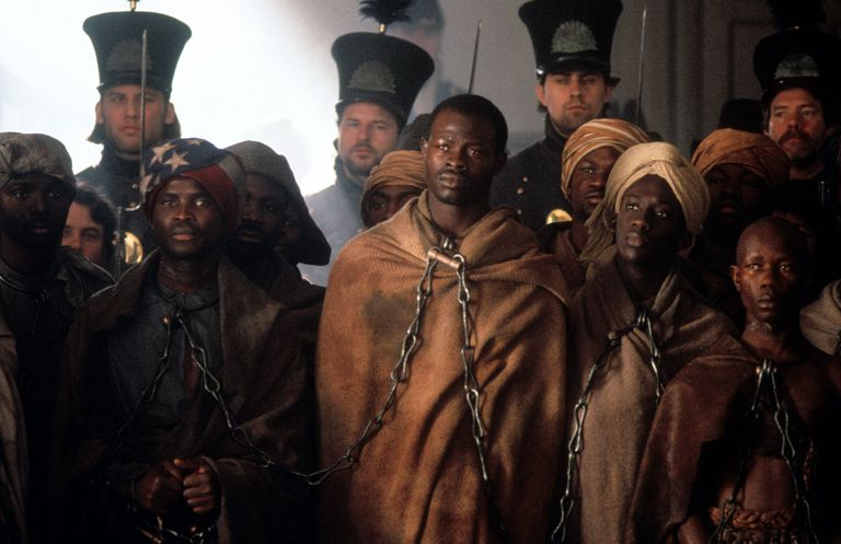 Djimon Hounsou In 'Amistad'