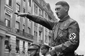 Adolf Hitler (1889 - 1945) in Munich in the spring of 1932.