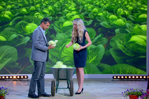 An image from the Russian TV show,