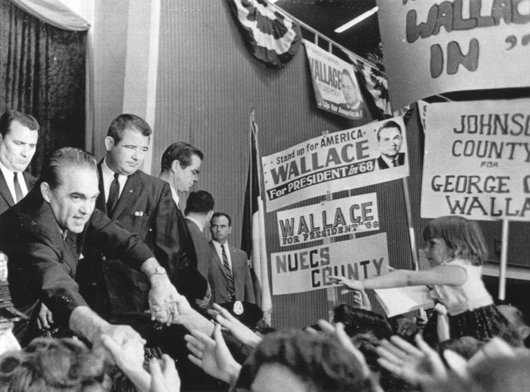 Candidate George Wallace