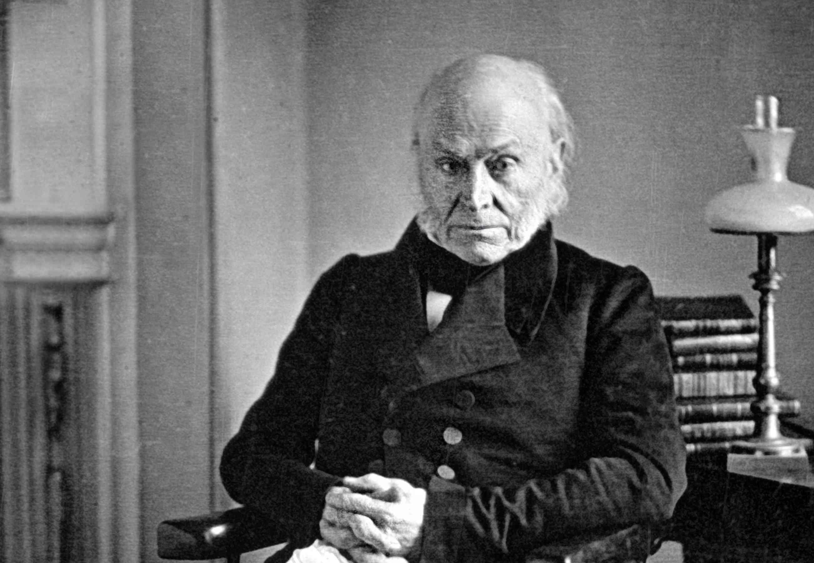 Philip Haas Daguerreotype of President John Quincy Adams