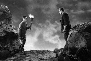 Still from the 1931 film adaption of 'Frankenstein'