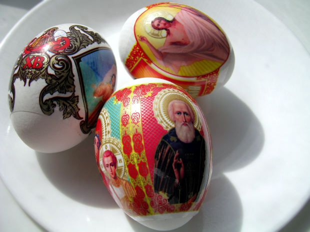 Decaled Easter Eggs