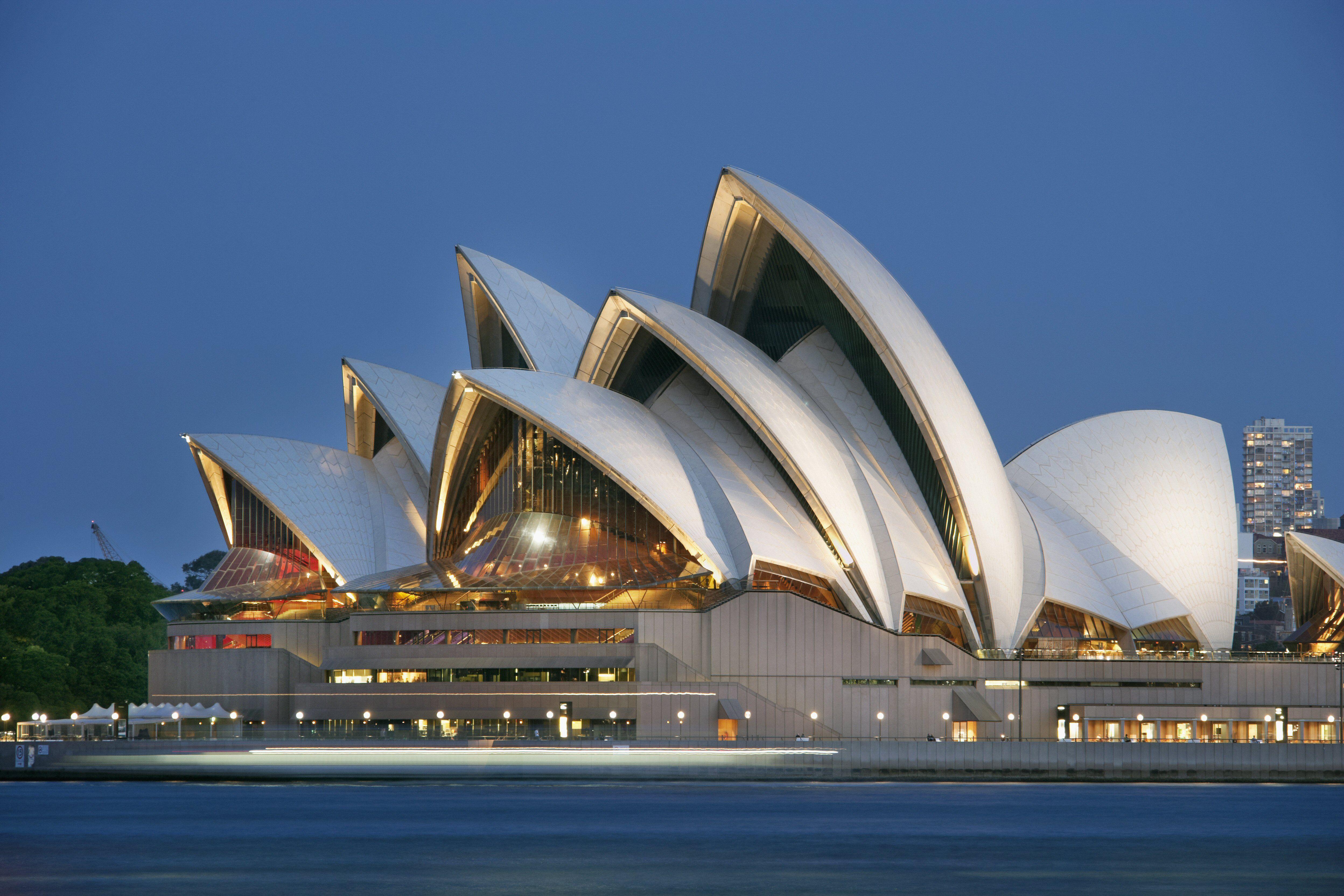 Sydney Opera House, Australia, at dusk