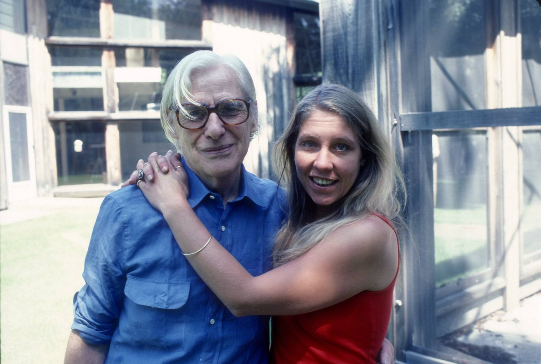 Willem de Kooning and daughter Lisa